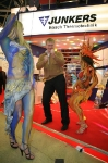 Танцевальный номер с участием гостей выставки