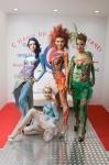 Девушки-модели боди-арт