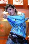 Танцы на стенде компании Knauf