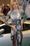 Привлекательная девушка, яркий боди-арт - секрет успеха вашего стенда на выставке