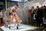 Эротическое шоу на выставочном стенде